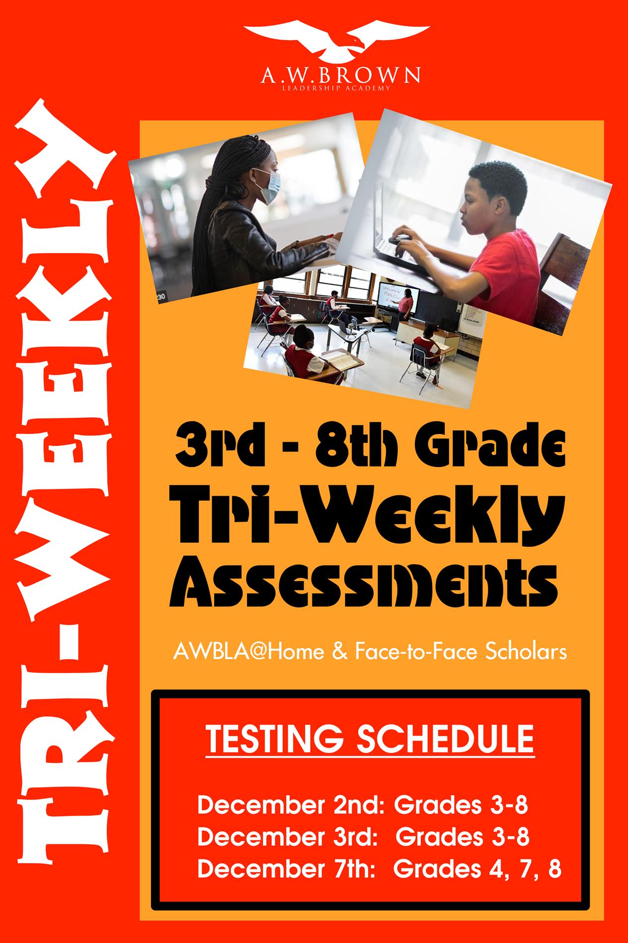 Tri - Weekly testing schedule