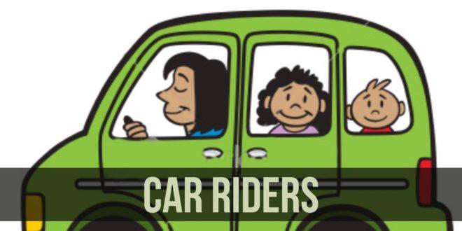 car rider clipart