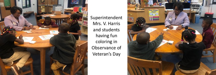Superintendent Observing Veteran's Day