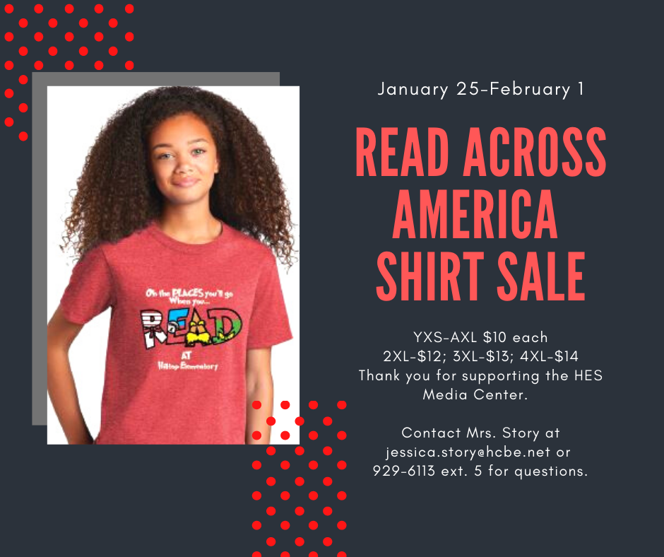 Read across America shirts