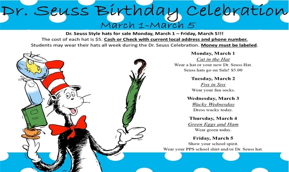 Dr. Seuss Celebration