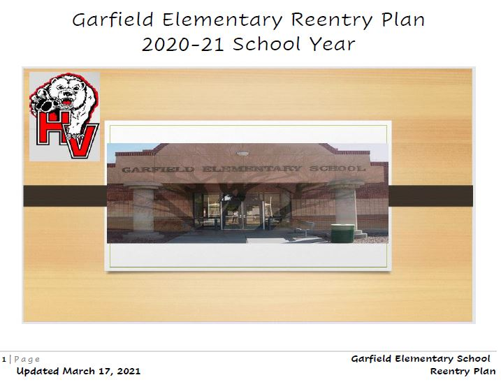 GES Reentry Plan March 2021