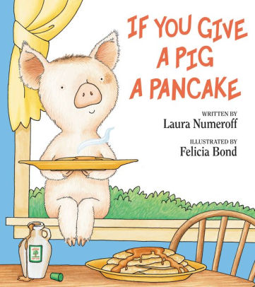 If You Give a Pig a Pancake Book Art