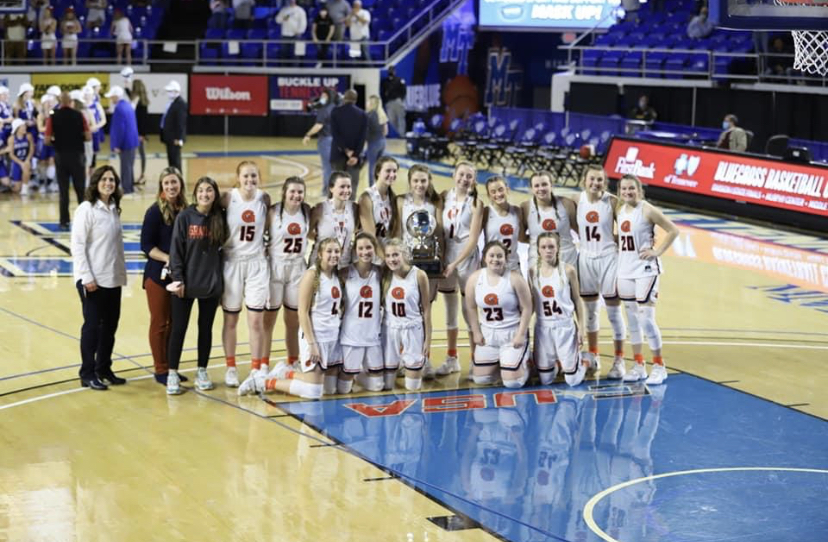 Lady grizzlies state runner-up