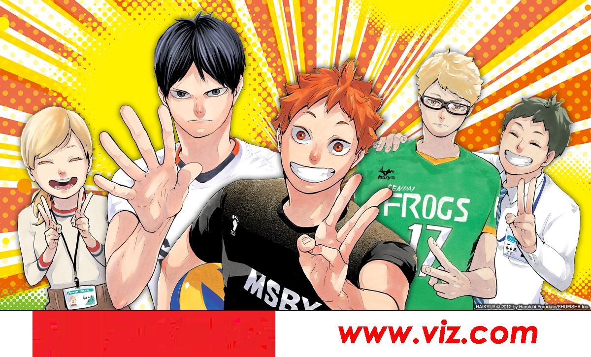 VIZ media blog header illustration with link to website