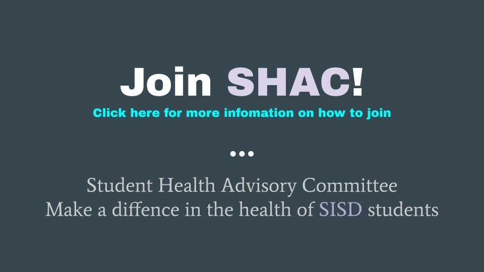 How to Join SHAC image and link