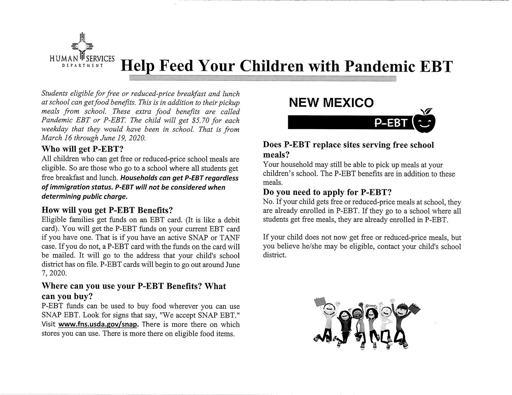 Pandemic EBT Info