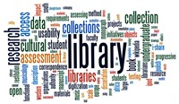 Library word cloud image