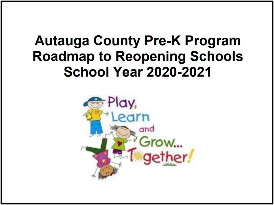 Roadmap to Reopening Pre-K