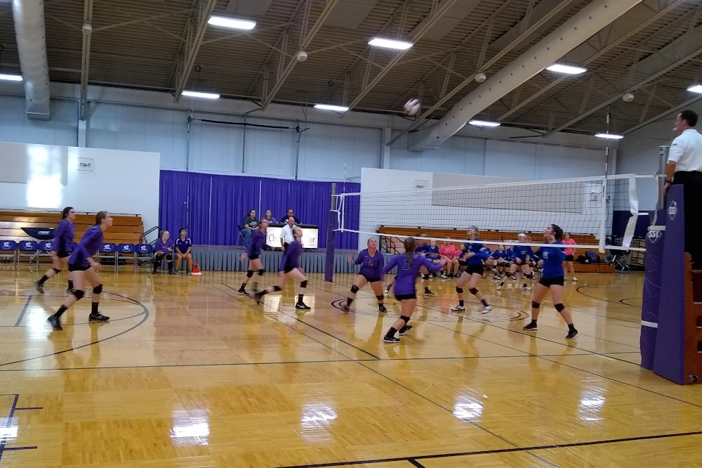 Volleyball game