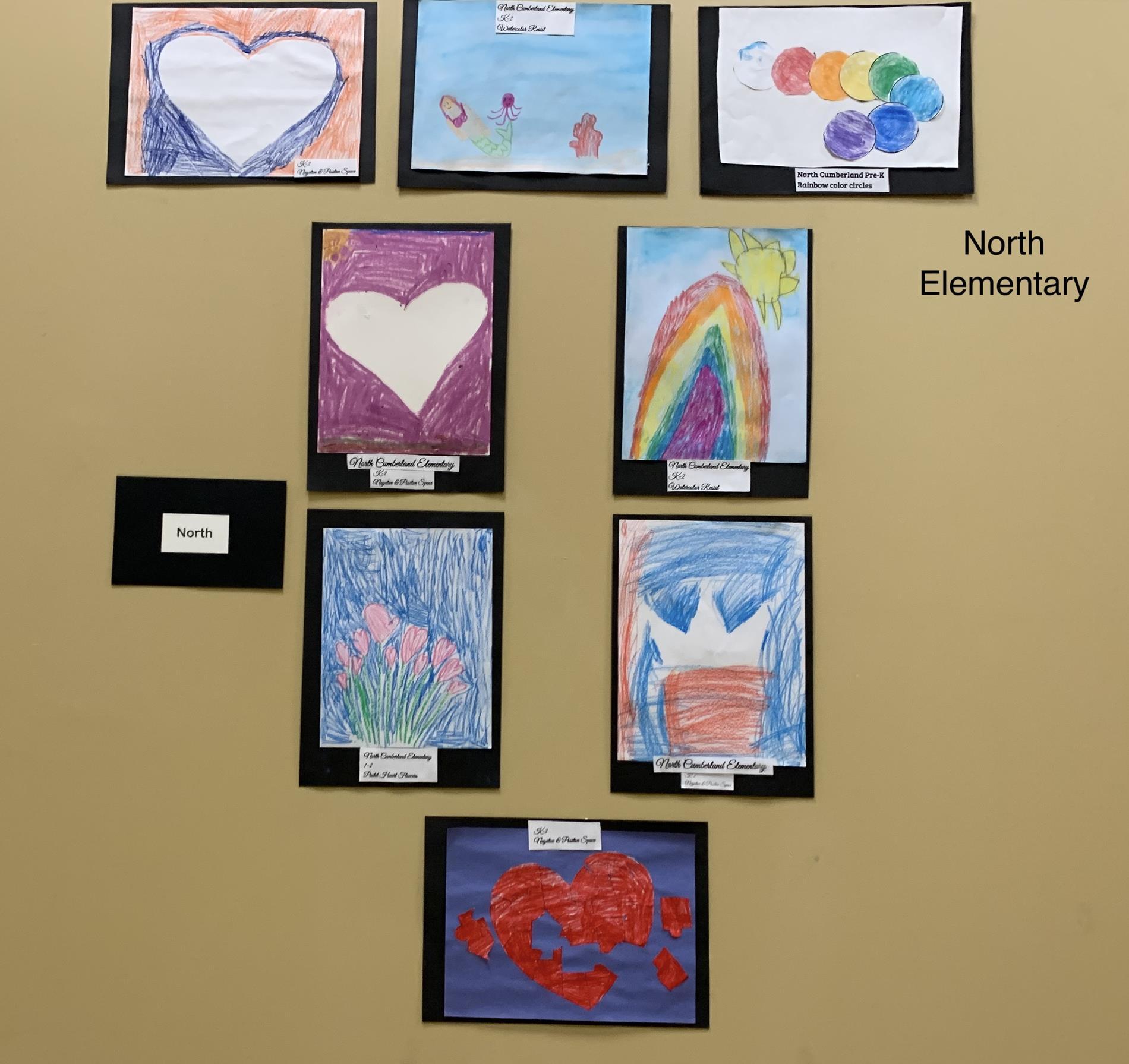 North Elementary Art Work