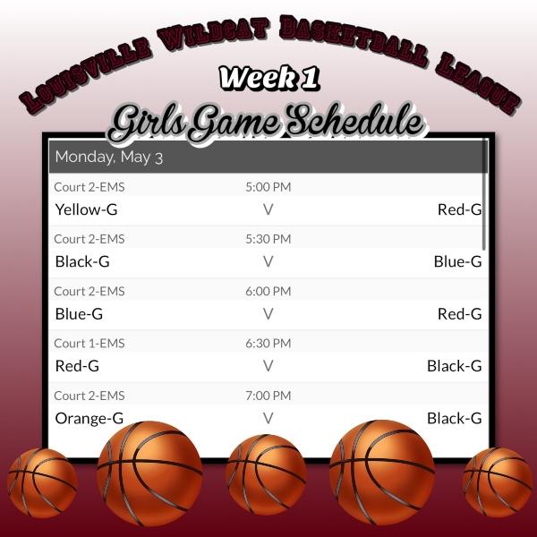 B Ball Schedule 4