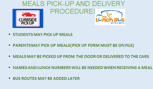 Meal Delivery and Pickup Procedure
