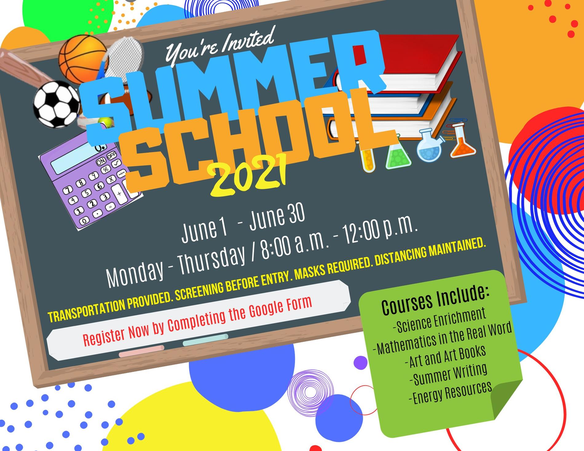 Page Middle School summer camps