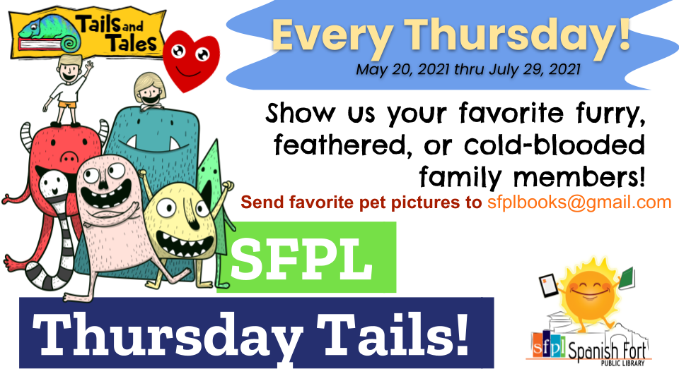 Submit a picture of your pet for Thursday Tails!