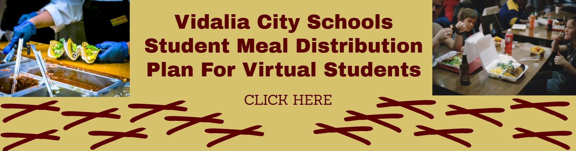 Nutrition Information for Virtual Students with Pics of School Lunches