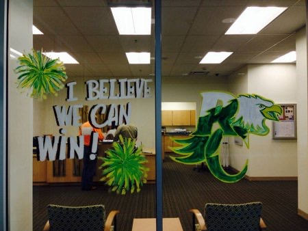 I Believe We Can Win! Window