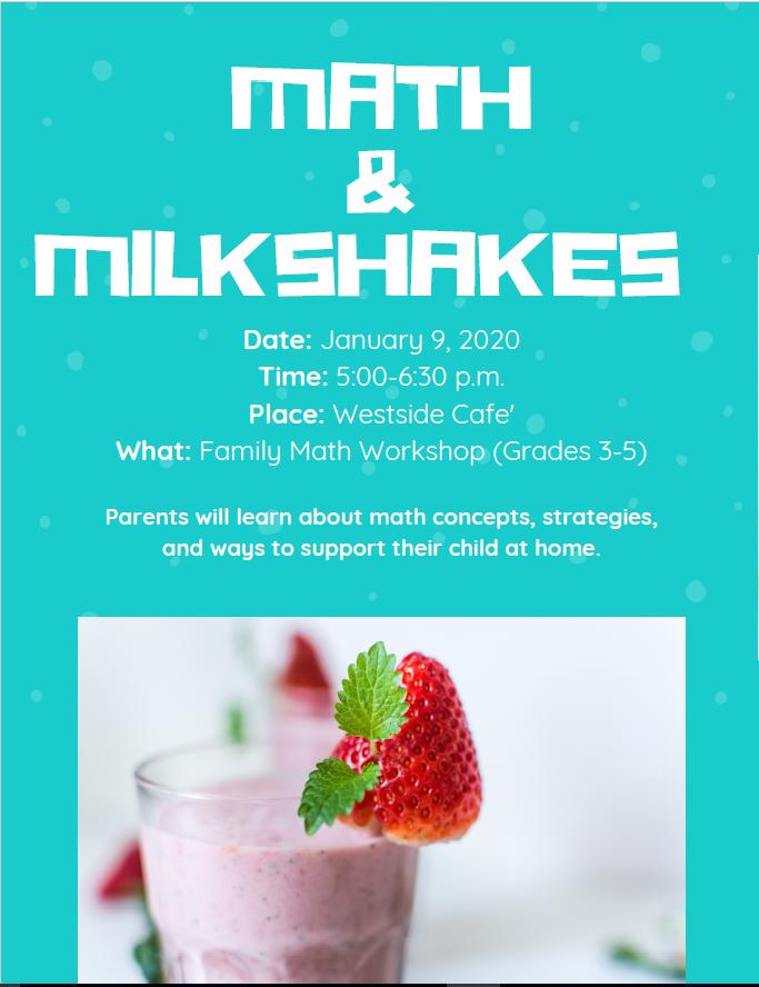 Math and Milkshakes