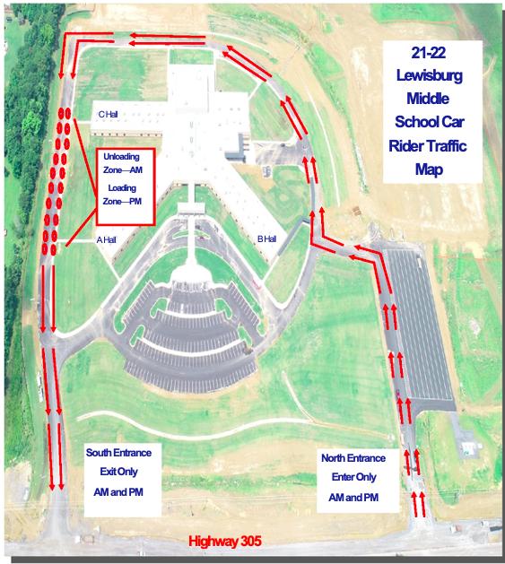 School Directions & Map