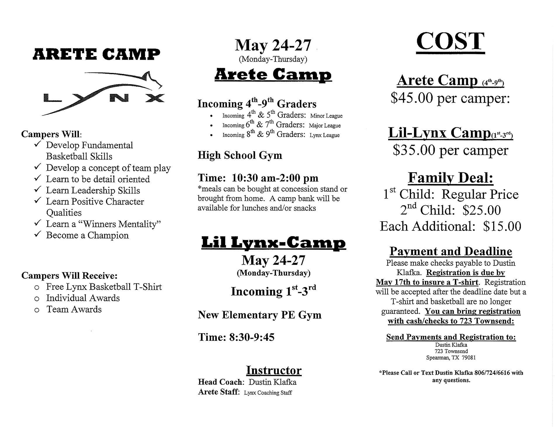 Camp info page 2