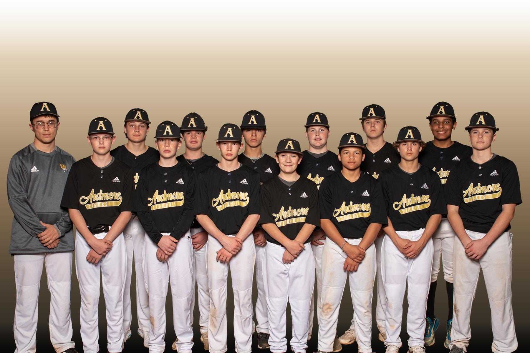 Our 8th Grade Baseball Team
