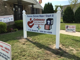 Penns Grove Head Start sign