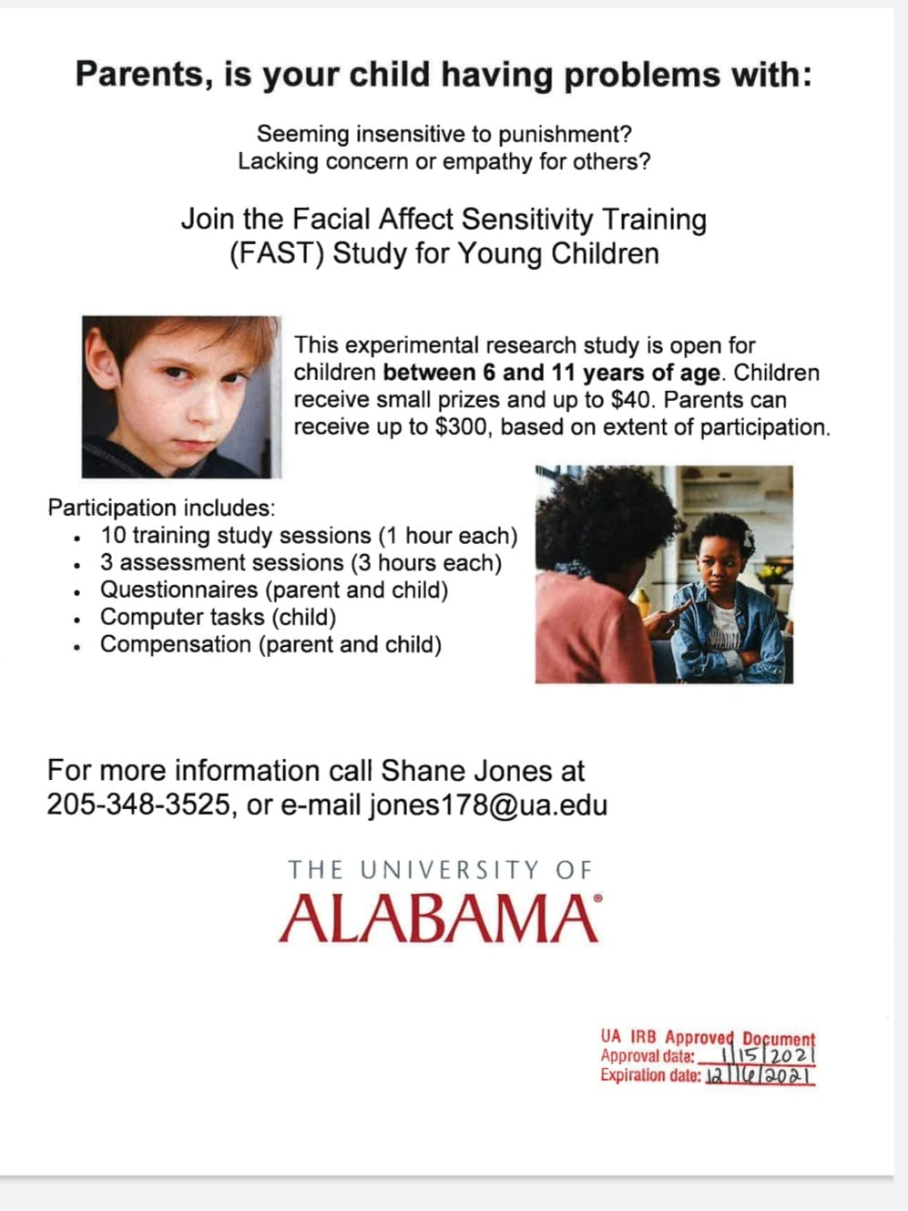 Facial Effect Sensitivity Training