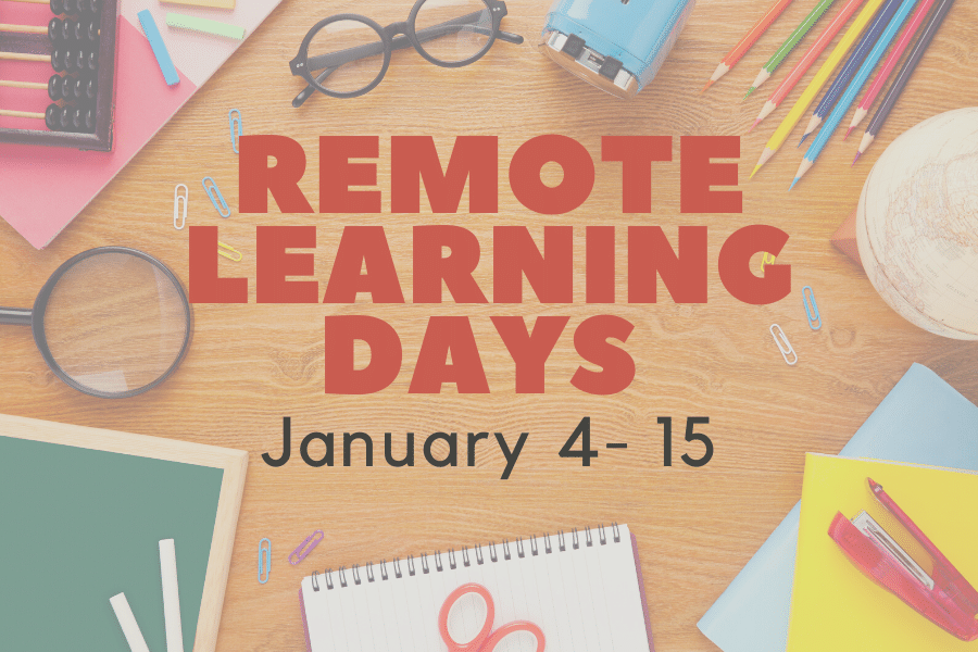 January remote learning