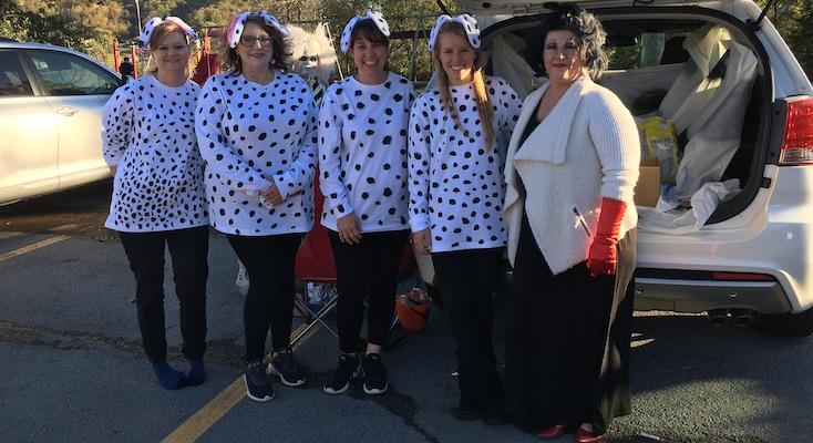 101 Dalmatians with Cruella deVil