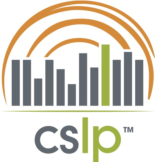 Collaborative Summer Library Program logo with link to CSLP website