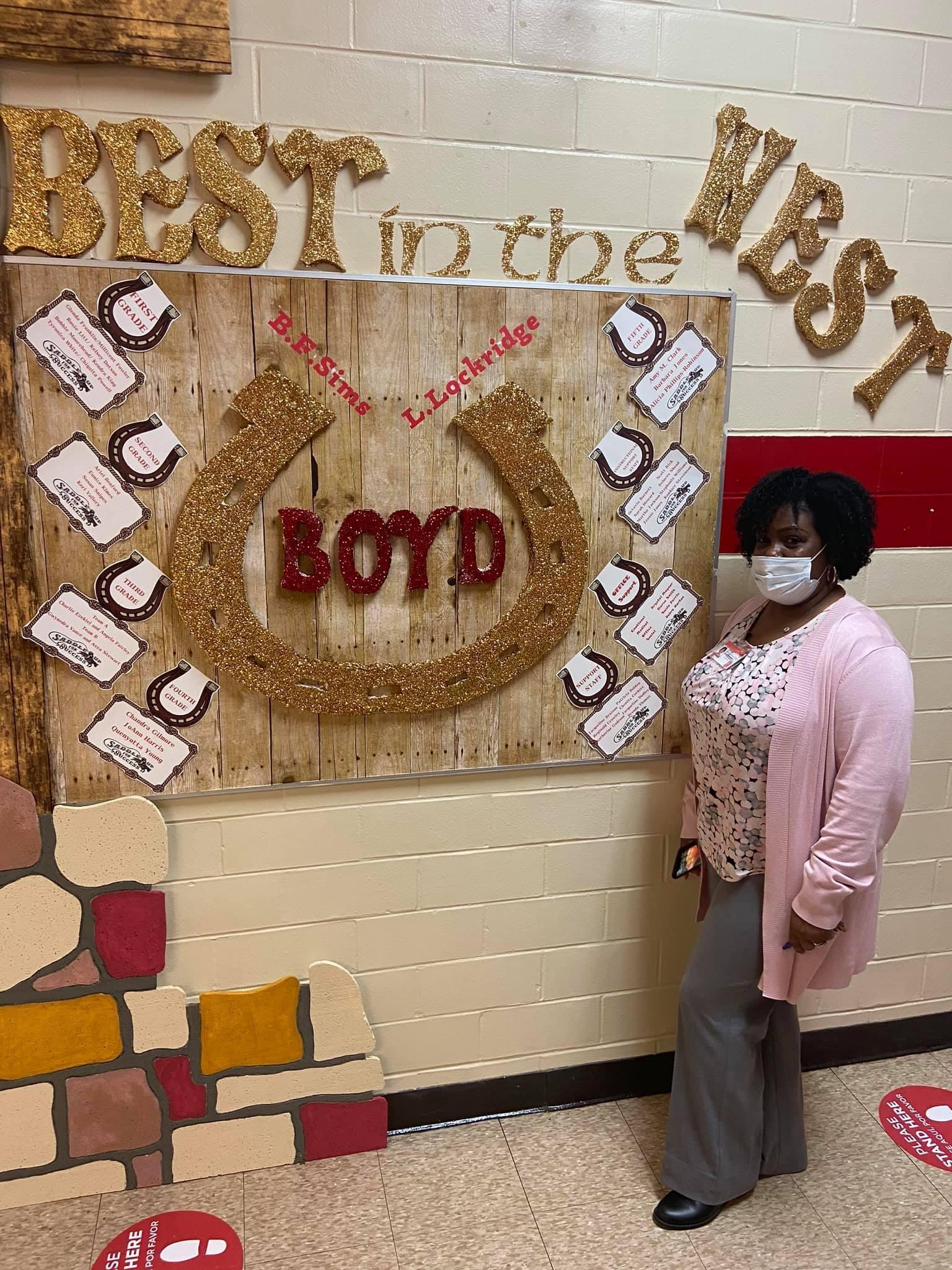 Boyd Staff Board