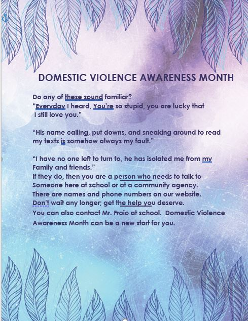 DV Awareness