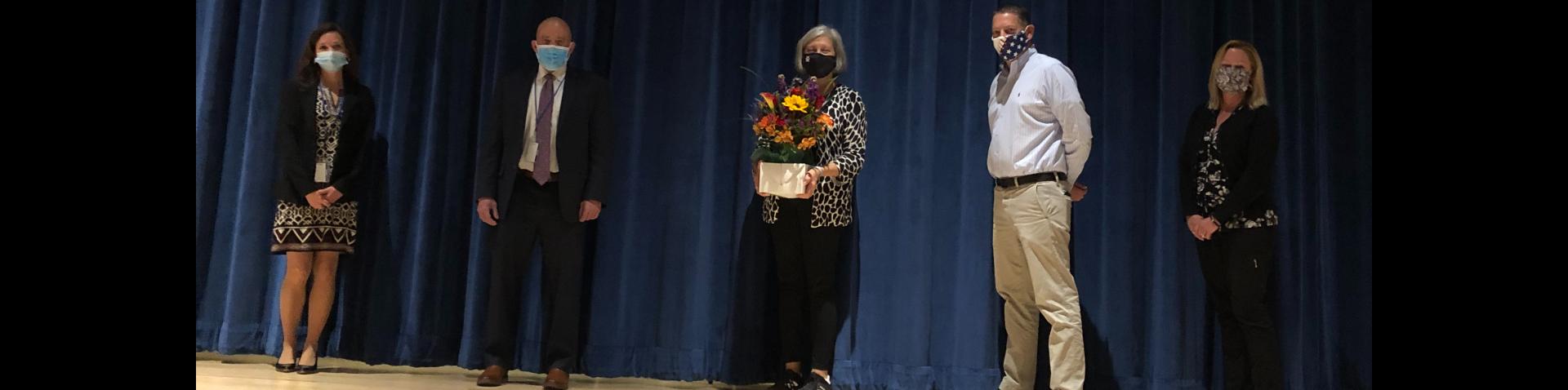 Board of Education Member, Laurie Boskie, awarded CABE's Certified Board of Education Member designation