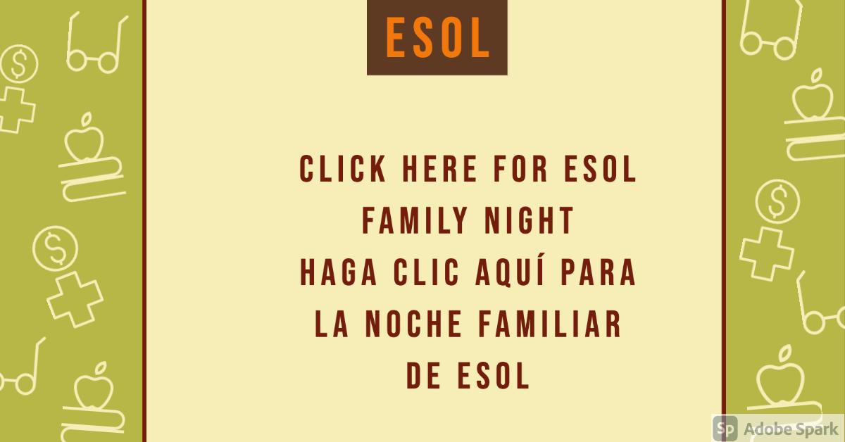 Click here ESOL Night