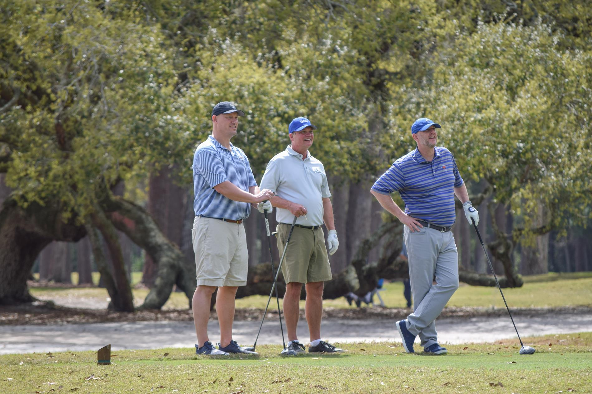 Golfers Participating in the Golf Classic