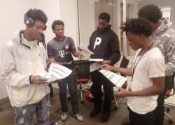 Students Participate in Black Male Institute