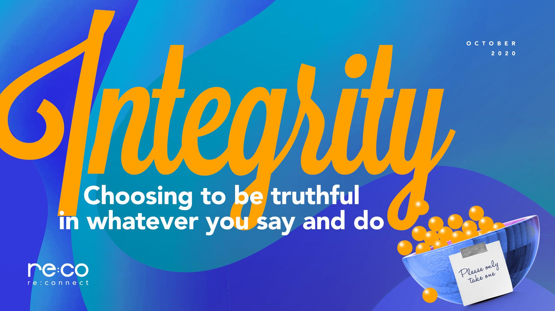 October 2020-Integrity