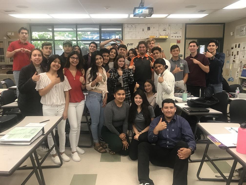 Marc Rodriguez's Class
