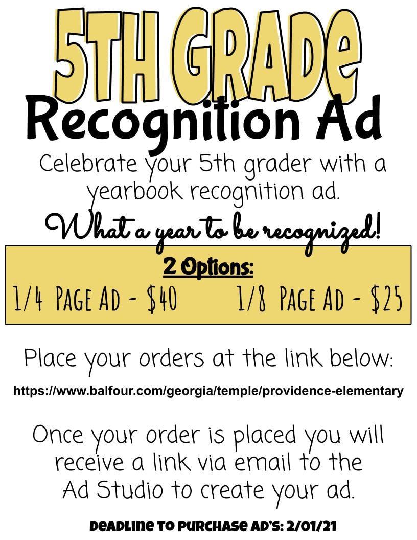 5th Grade Ad