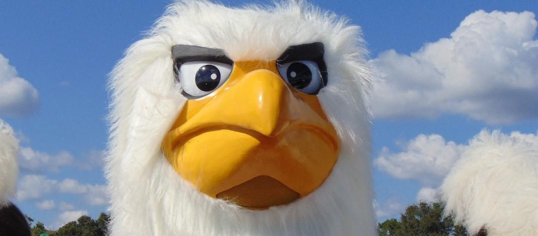 Clark-Shaw Mascot-Eagle