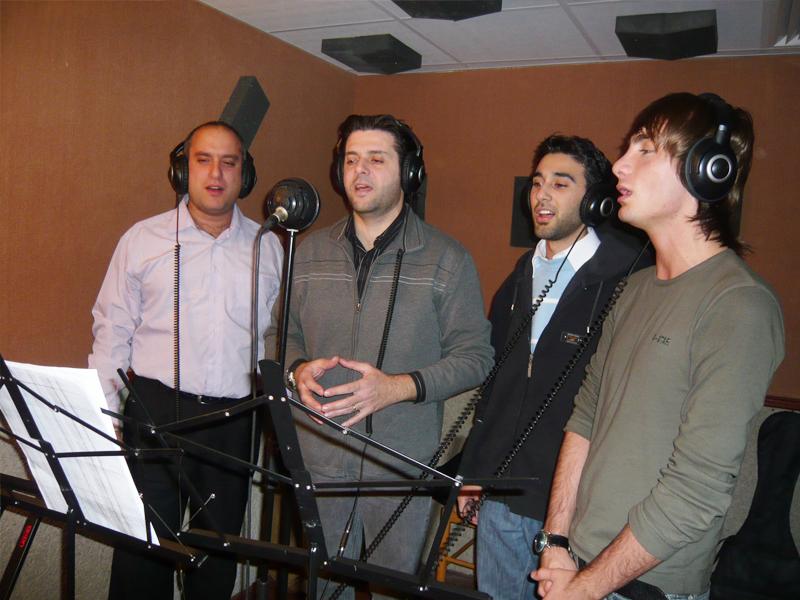 Recording the album Koudous