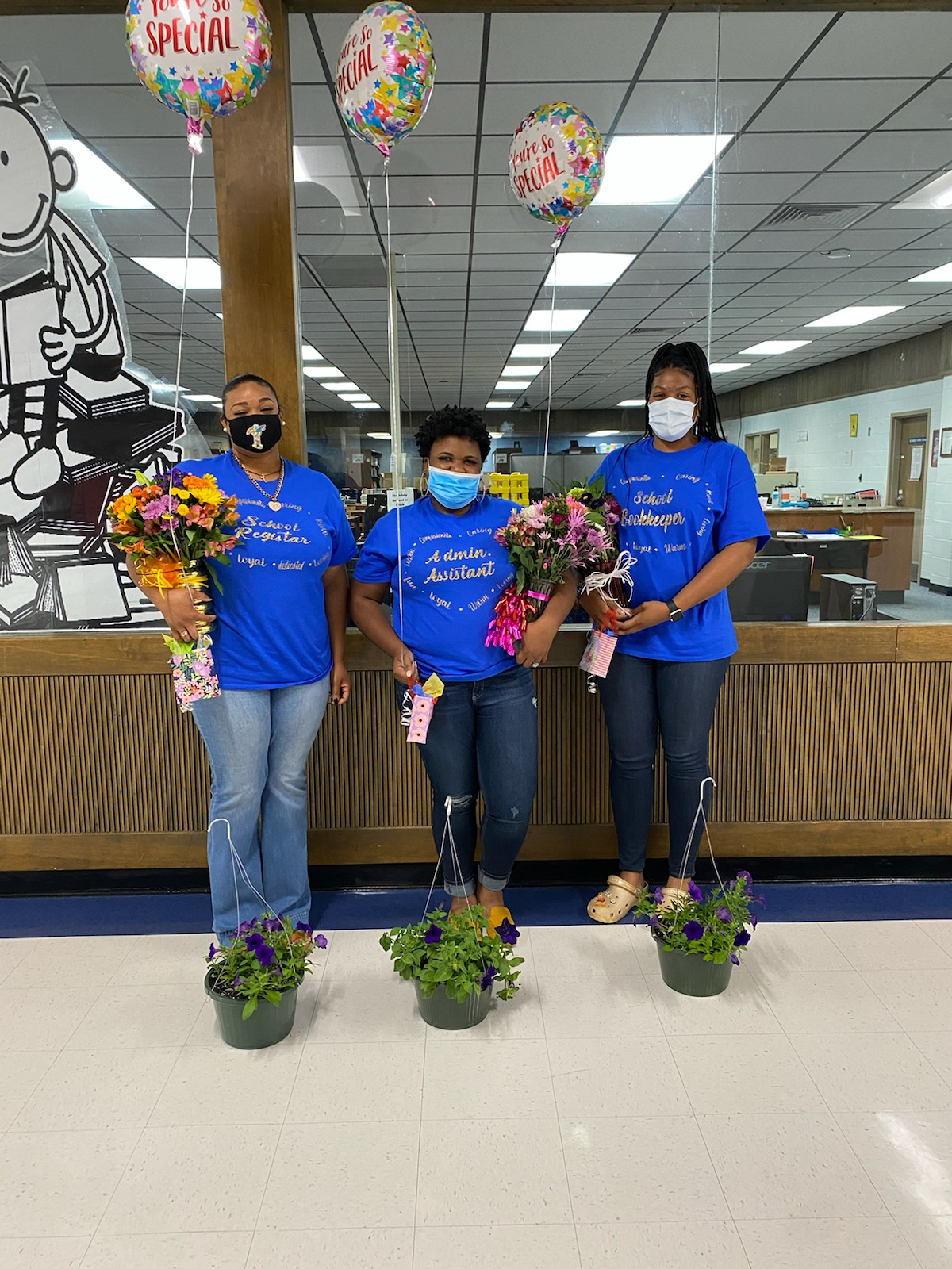 SCMS Celebrates Administrative Assistant Day