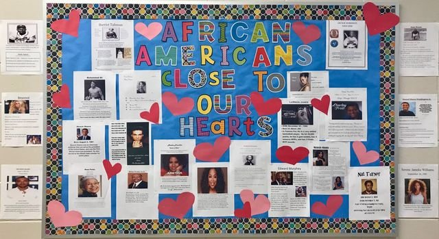 Black History Bulletin Board