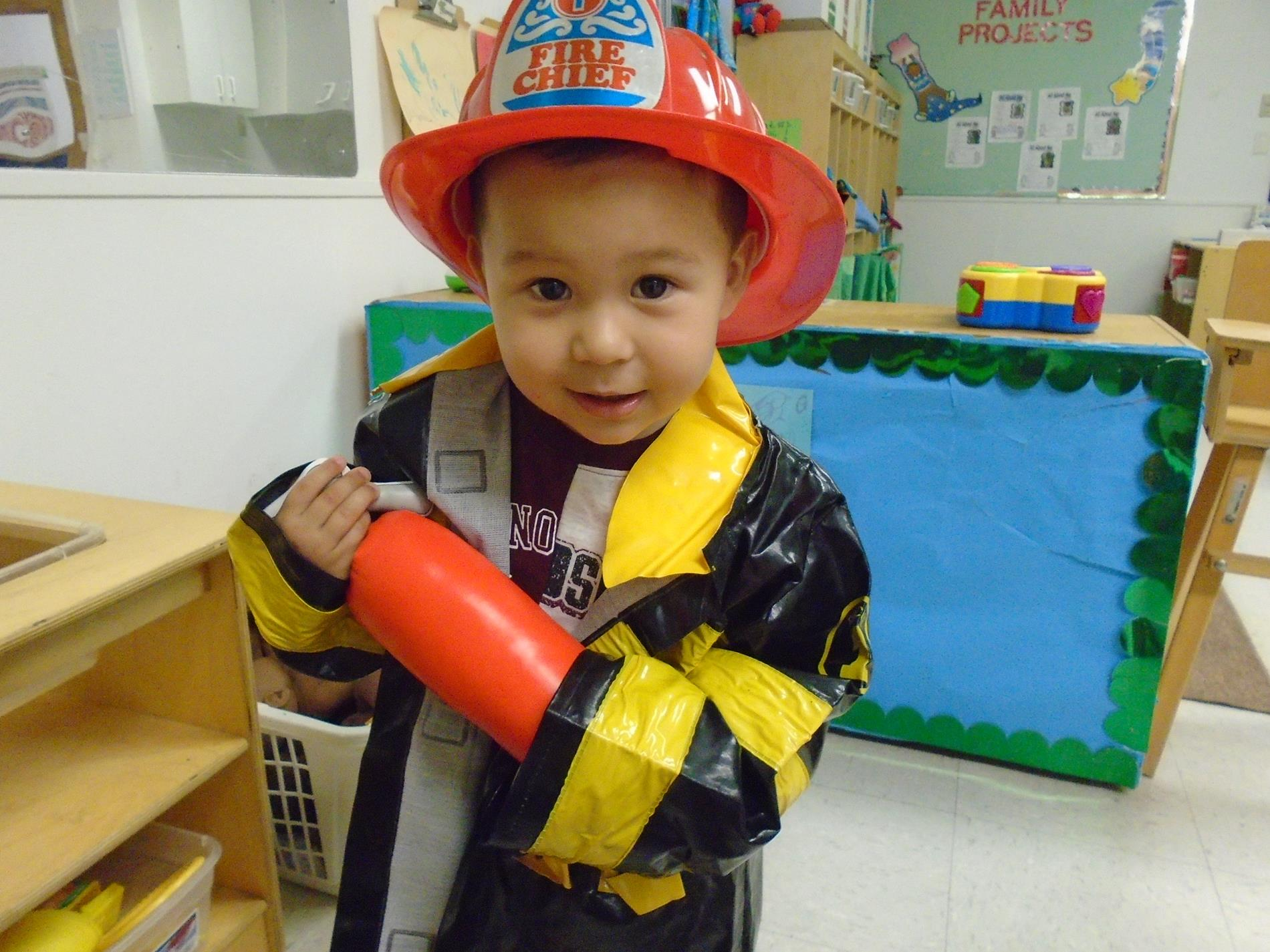 Picture of Child Firefighter