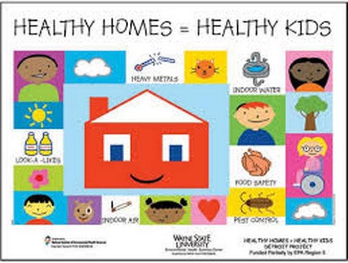 Cartoon image of a house