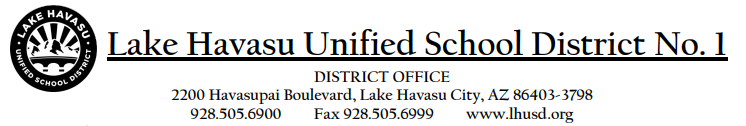 district letterhead graphic