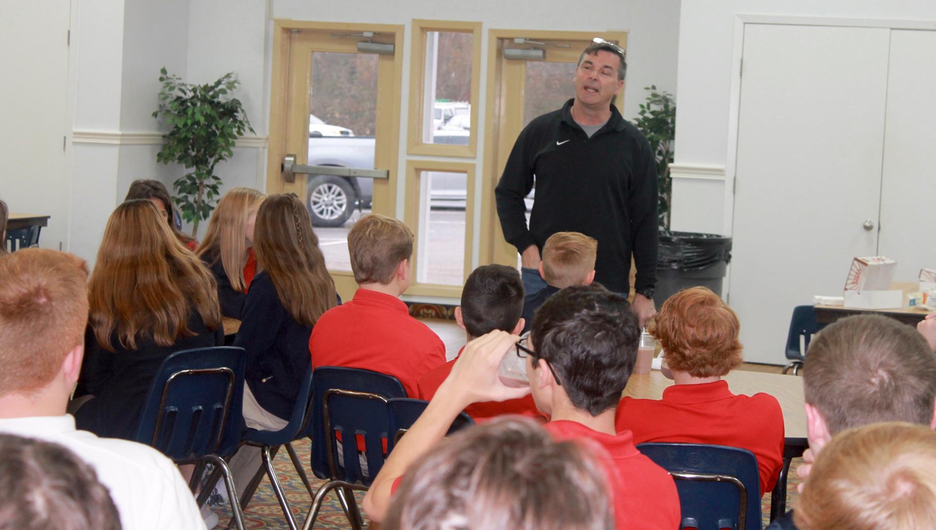 FCA Meeting at East Rankin Academy