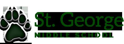 Saint George Middle School logo