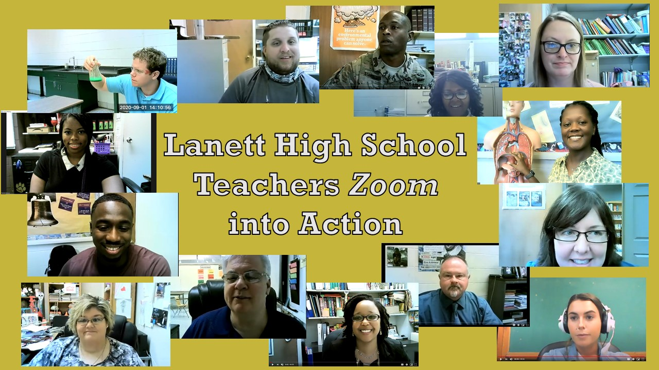 LHS Teachers Zoom Into Action