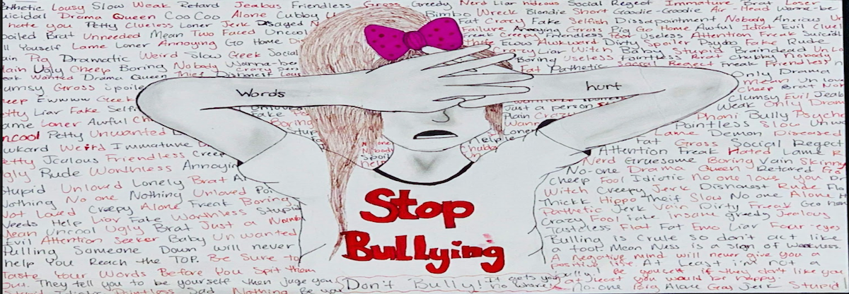 Stop Bullying Drawing